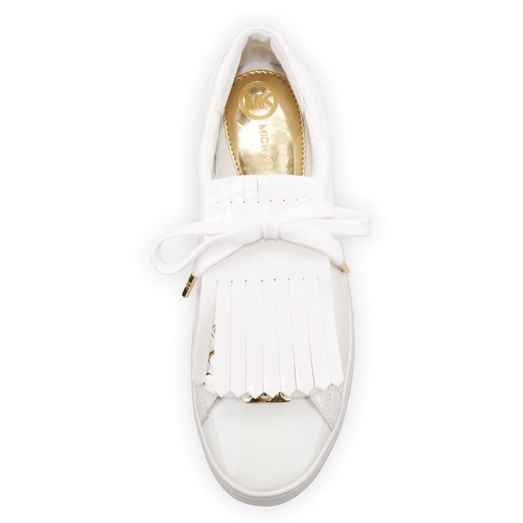 5a7c257c9e0c HP MK Keaton Kiltie Faux Patent Sneaker. M 5acc06d6a6e3eae4c1c13e85. Other  Shoes you may like. NWOT Michael Kors ...